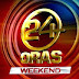 24 Oras Weekend April 26 2015