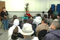 Pais, alunos e responsáveis participam da primeira reunião das turmas do segundo semestres dos cursos do Point Jovem