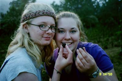 Rebecca and Erin