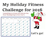 My 2016 Holiday Fitness Challenge