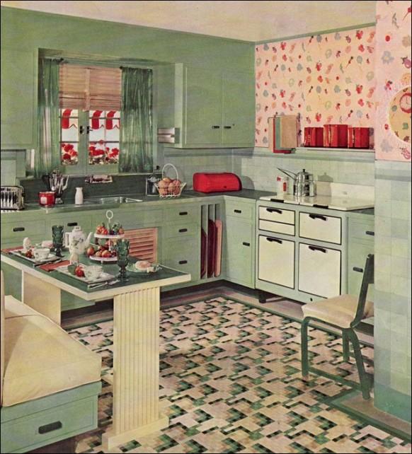 Vintage 1930s Kitchen Design