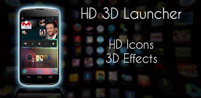 HD 3D Launcher PRO
