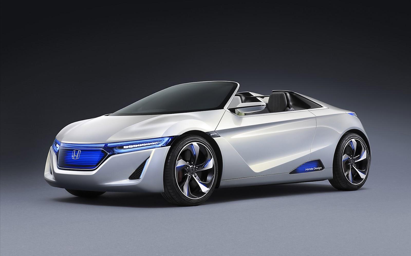 Hd new wallpaper honda concept car for Future honda cars