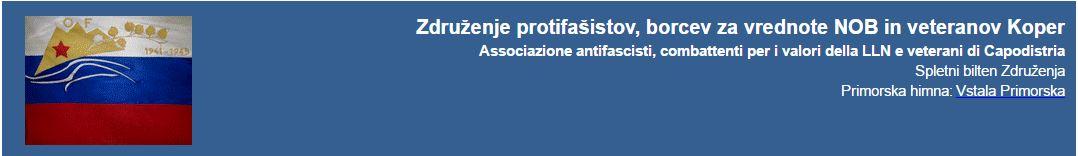 Združenje protifašistov, borcev za vrednote NOB in veteranov Kopra
