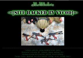Perentas Indonesia menghancurkan situs Israel
