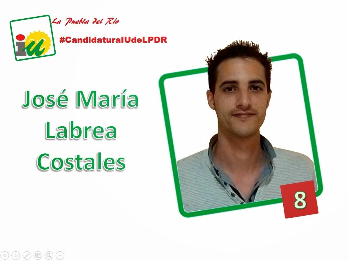 #CandidaturaIUdeLPDR José Mª Labrea