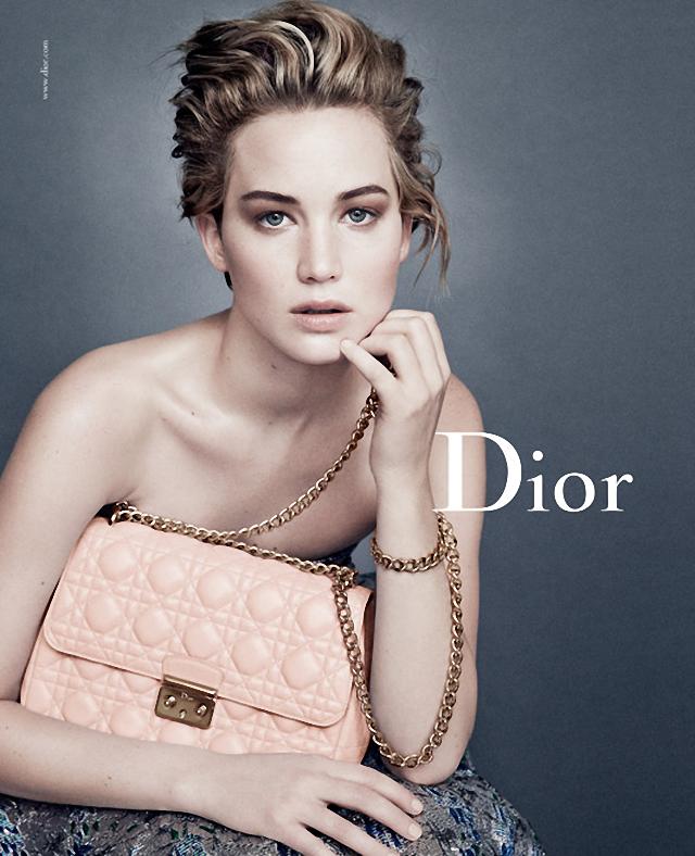"""Jennifer Lawrence en nueva campaña """"Dior"""""""