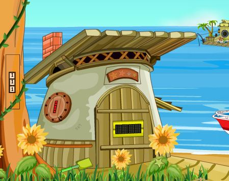 GraceGirlsGames Fisherman Hut Escape