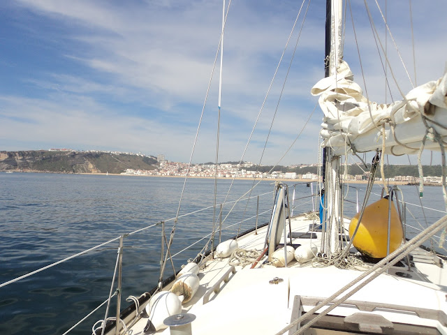 Approach to the Port of Nazare