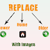 Replace Older, Newer And Home Blogger links with an image or text
