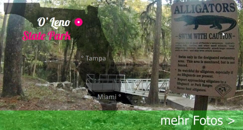O'Leon State Park, Florida USA