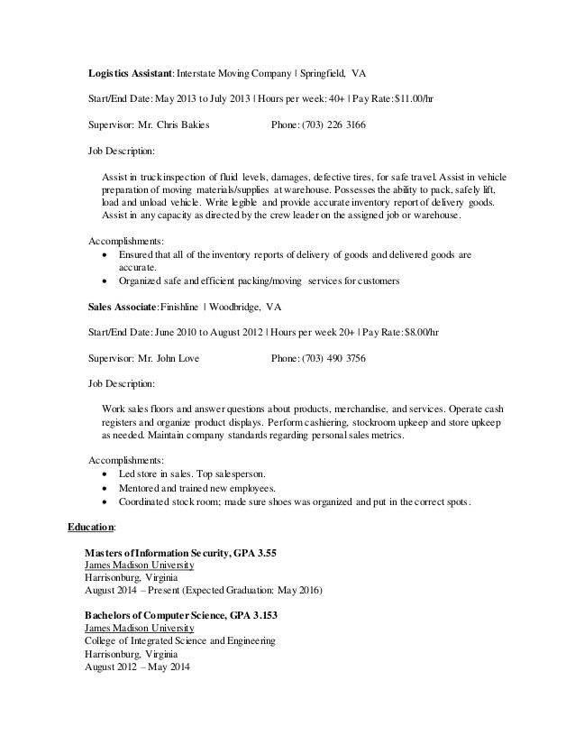 Moving Company - Moving Company Job Description