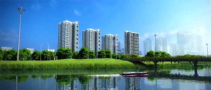 Căn hộ Green Valley sở hữu không gian sống xanh ngay trung tâm đô thị Phú Mỹ Hưng