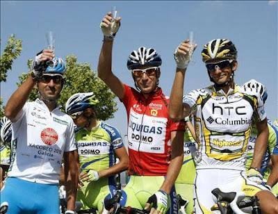 podio vuelta espana Vuelta a España 2011 de Benidorm Madrid