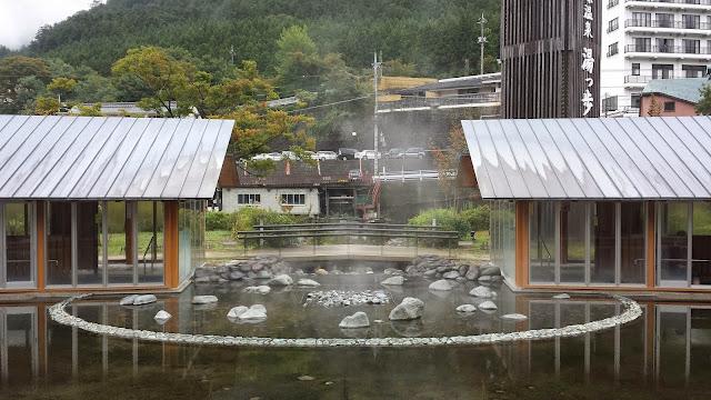 Foot Hot Spring in Nasushiobara