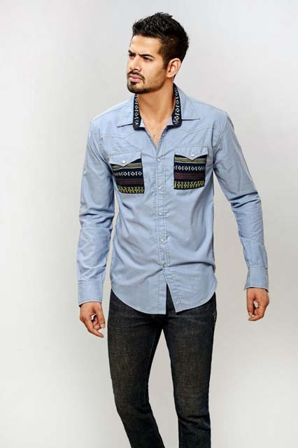 New Stylish Casual Wear Winter Dresses 2012 For Men By BIG 0003 jpg - BIG Mens Winter Collection 2012-13:x