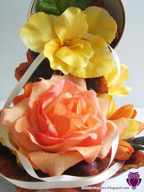 detail rose tea cup