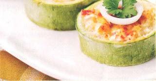 Reteta culinara pentru diabetici - Butoiase de dovlecei