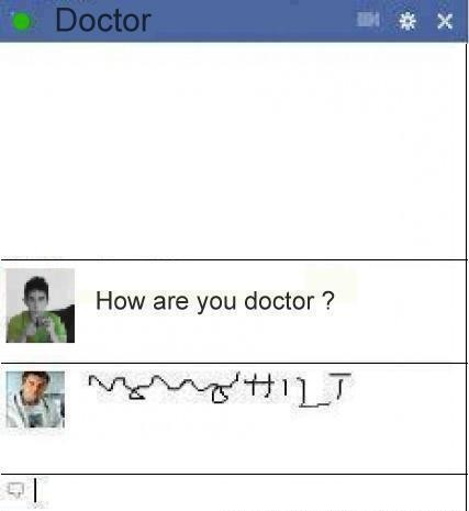 funny iphone text message about doctors