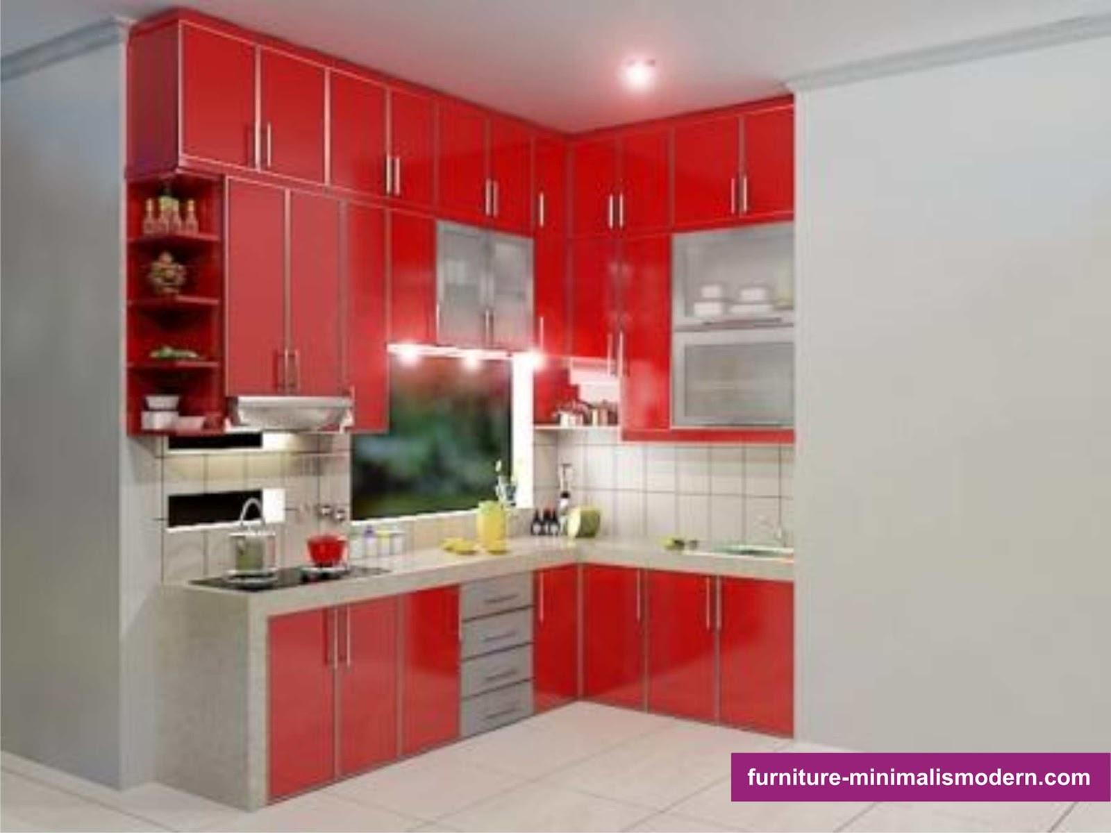 Design furniture tempat dapur modern minimalis dan elegan for Design kitchen set modern