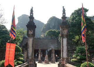 Templo Dinh del Rey Dinh Tien Hoang en Hoa Lu