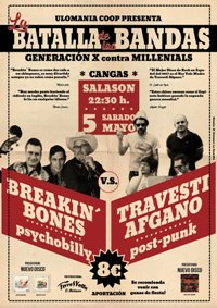 Breakin' Bones Vs Travesti Afgano (5 maio SalasSon)