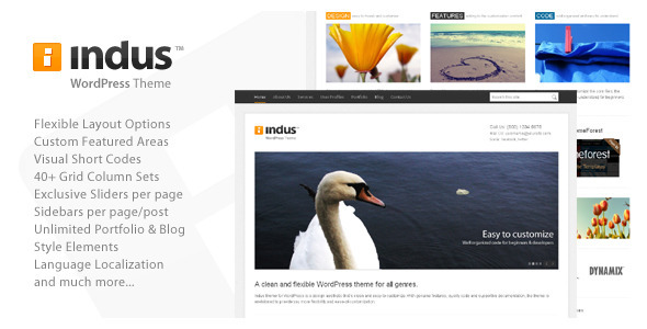Image for Indus – Corporate Business Theme by ThemeForest
