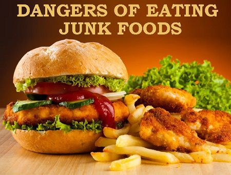 Dangers of Eating Junk Foods: Facts you should know