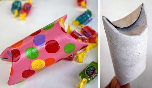 #T23 DIY: Cajitas de Regalo con Tubos de Papel Higienico
