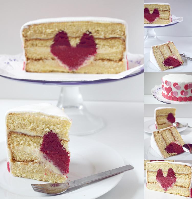 receta de tarta corazón [paso a paso]