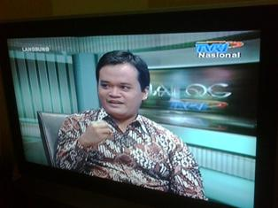 Live Talkshow on TVRI