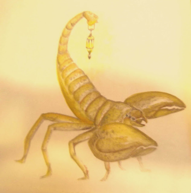 Sand Scorpion of the Ocycan