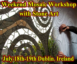 Weekend Mosaic Workshop with Stone Art