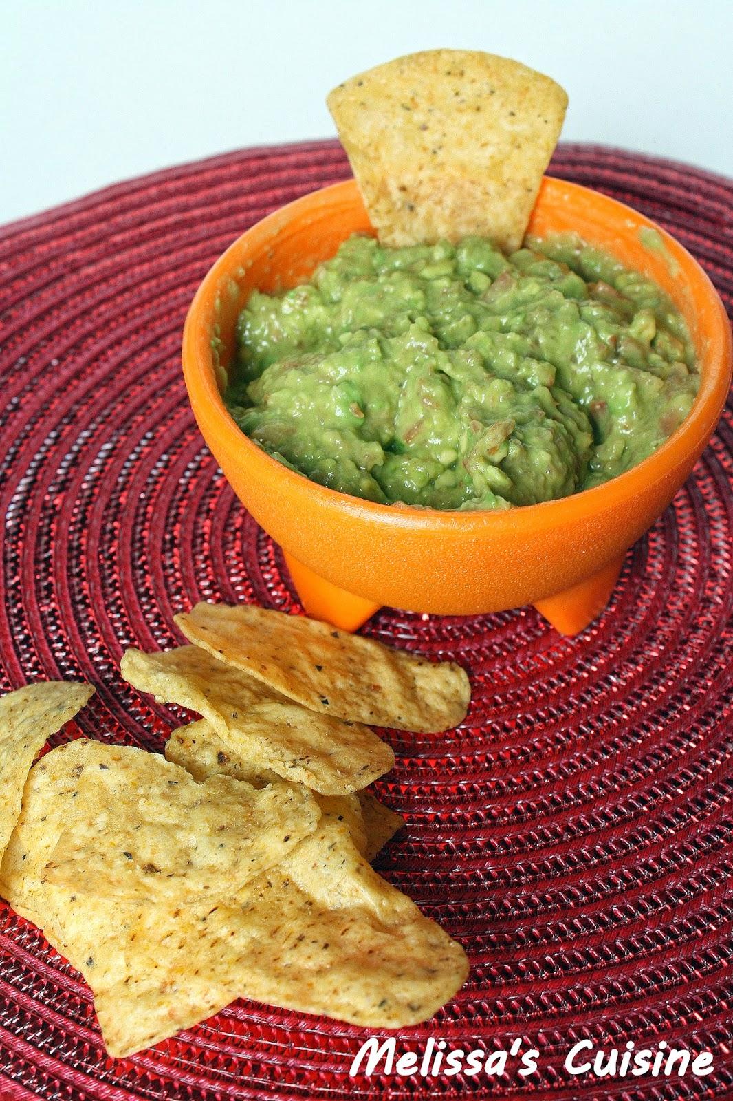 Melissa's Cuisine: Zesty Guacamole