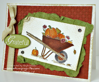 Always Thankful stamp set by Stampin' Up!