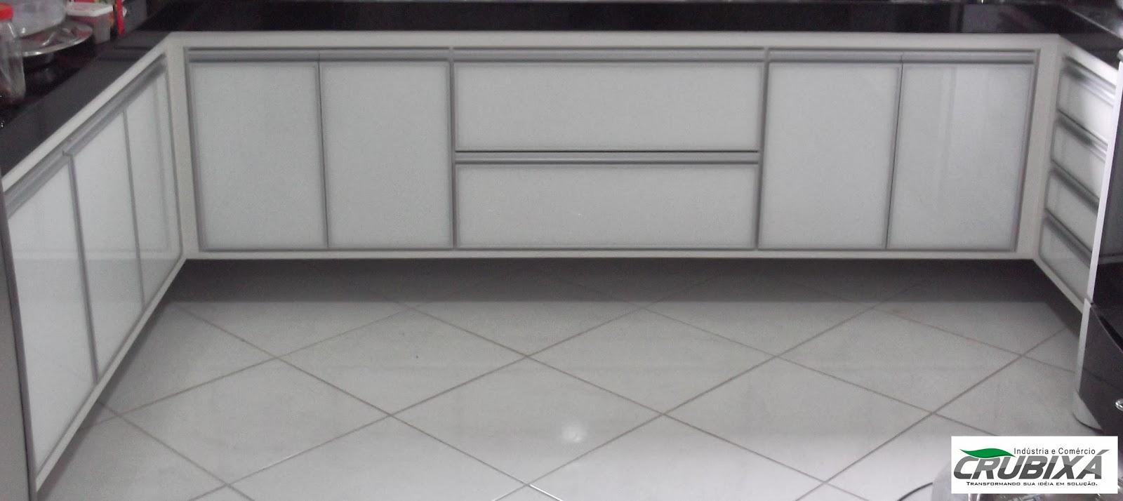 #474211 Crubixá Marcenaria Esquadria e Metalurgica 1600x714 px Armario De Cozinha Em Aluminio #2973 imagens