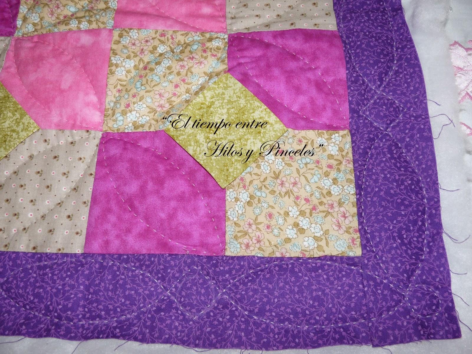 El tiempo entre hilos y pinceles cojines de patchwork - Cojines de patchwork ...
