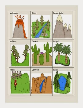 http://www.teacherspayteachers.com/Product/Landforms-229670