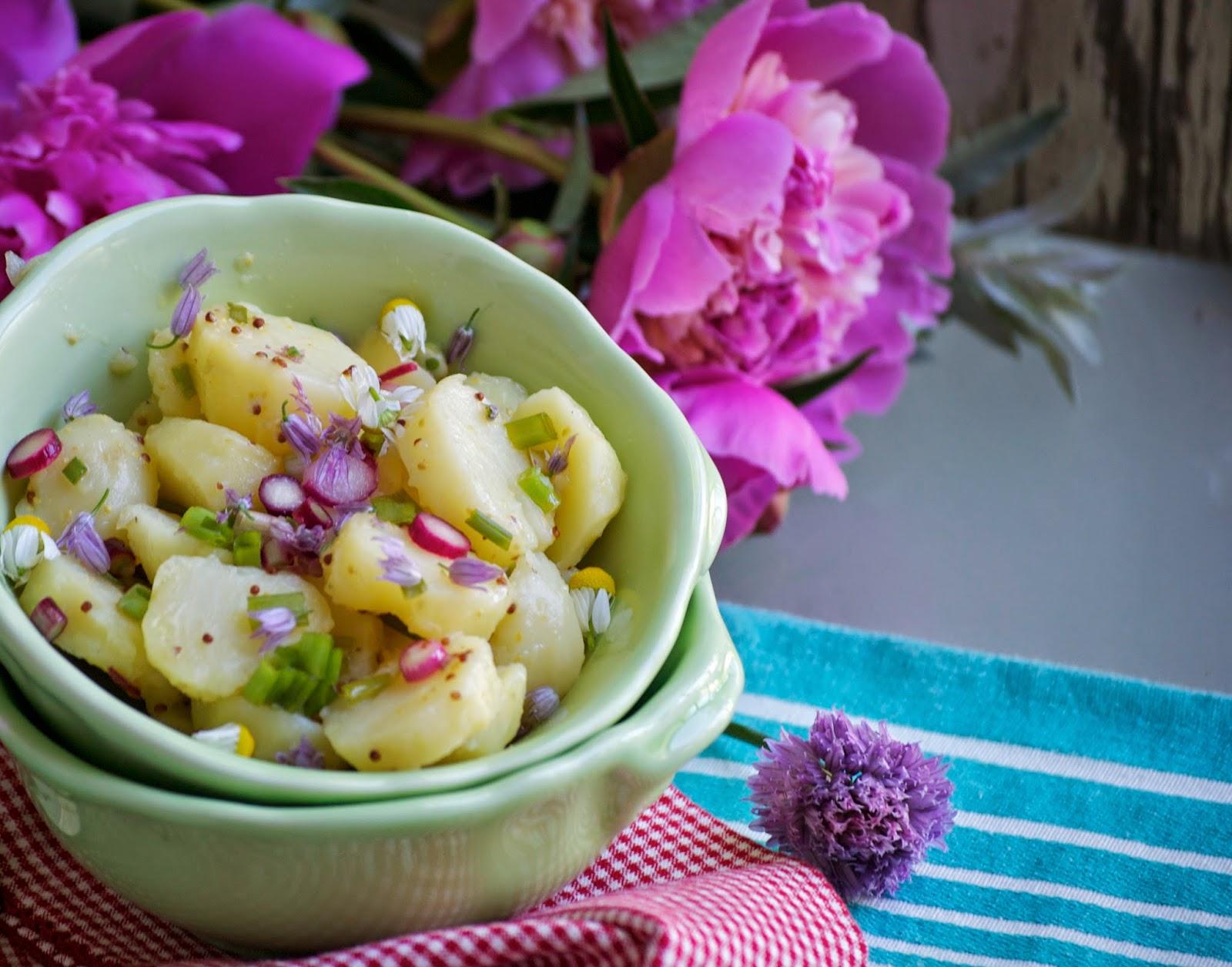 french potato salad oooh la la this simple potato salad from canadian ...