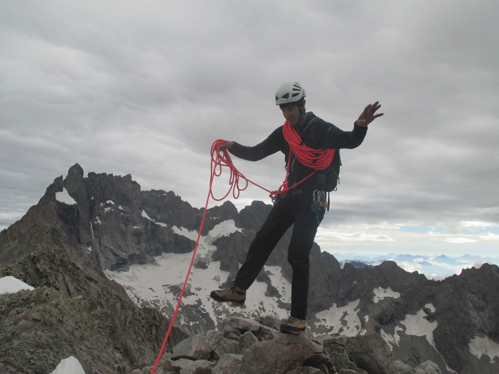 Quentin delavignette guide de haute montagne uiagm ar te sud sud ouest de la - Dormir la tete au sud ...