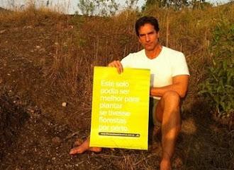 o ator Victor Fasano apóia a campanha #florestafazadiferenca em defesa do Código Florestal