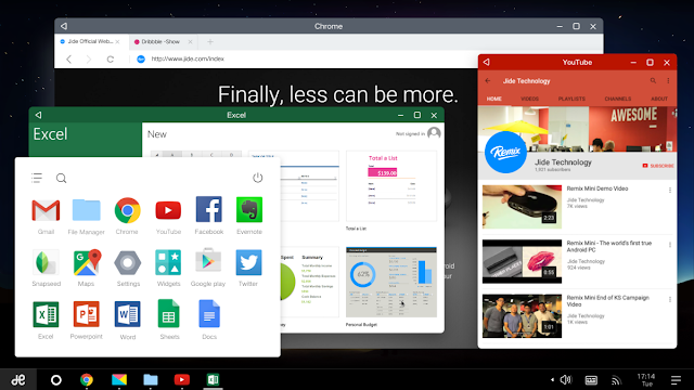 Download Remix OS Gratis, OS Android untuk PC