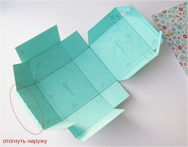 Как сделать картонную коробку своими руками для подарка