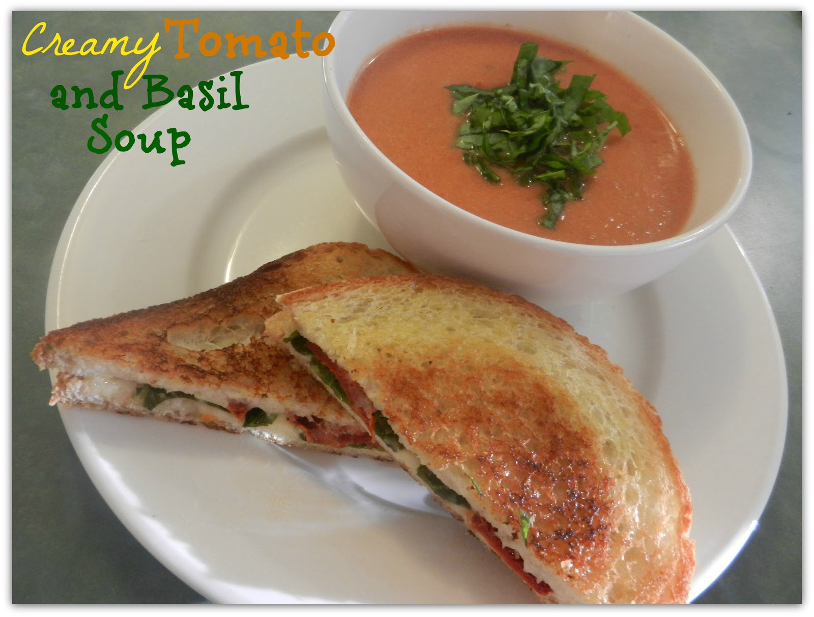 Busy Mom's Slow Cooker Adventures: Creamy Tomato Basil Soup
