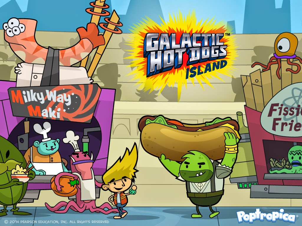 Poptropica Galactic Hot Dogs