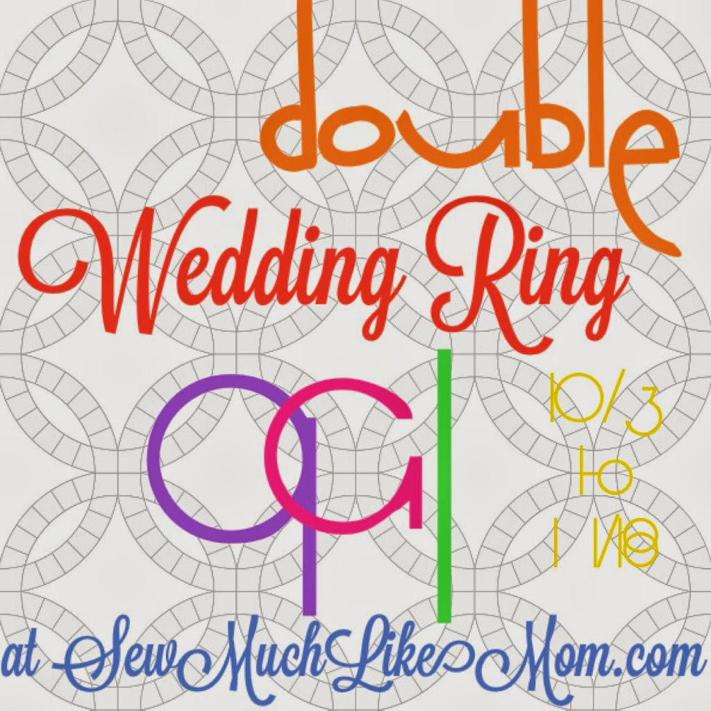 Sew Much Like Mom Double Wedding Ring Quilt Along Preparing The
