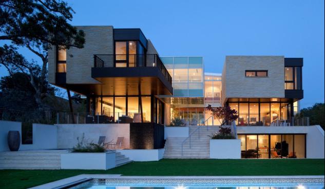 fachadas de casas residenciales de dos pisos - Fotos De Fachadas De Casas