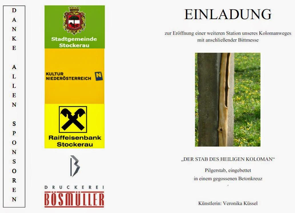 online magazin der katholischen pfarre stockerau: einladung, Einladungen