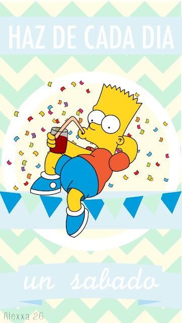 cartel-mensaje-positivo-bart-Simpson