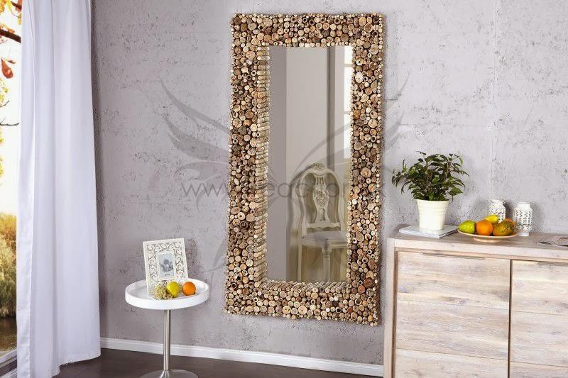 zavesne zrkadlo na stenu, dizajnove zrkadlo z masivu, mesivne drevo ram zrkadla